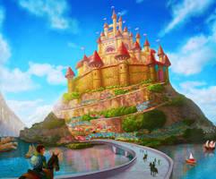 Castle Lake by JJwinters