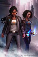 Adalia and Jamari Moore by JJwinters