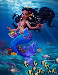 Yonisha Mermaid by JJwinters