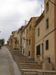 Spain - M09 Interesting stairs by Gwathiell