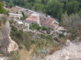 Spain M34 Village in the valle by Gwathiell