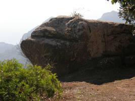 Spain Sa15 Fish rock by Gwathiell