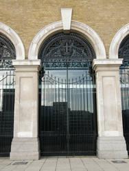 London 4a Iron Ornaments by Gwathiell