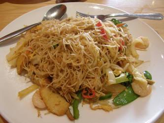 London 19 Chilli Spaghetti by Gwathiell