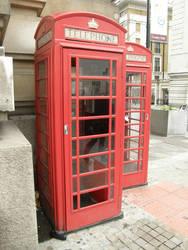 London 23 Telephone booth by Gwathiell