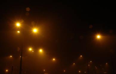 Nighttime - Lights by Gwathiell