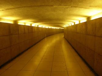 Pedestrian underpass by Gwathiell