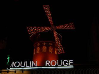 Moulin Rouge - Night by Gwathiell