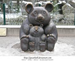 Zoo - Statue by Gwathiell
