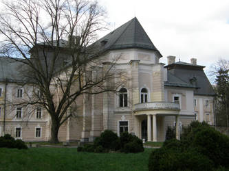 Lefantovce - Mansion tree by Gwathiell