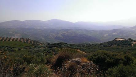 Crete - Triple by Gwathiell