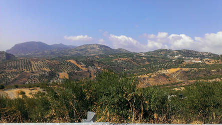 Crete - The land by Gwathiell