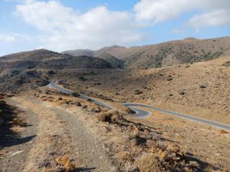 Crete - Roads by Gwathiell