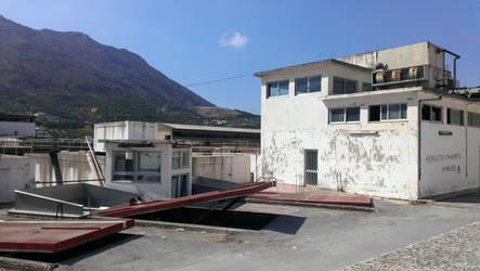 Crete - Factory by Gwathiell