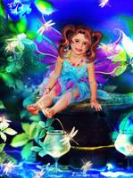 Fairy in the night by Elsapret