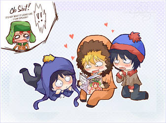 Look What Kenny Found c: by chibibarrage