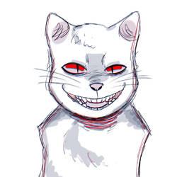[Eyestrain] Demon Cat by ameneko98