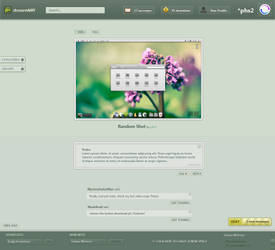 DeviantART 2011 Concept Beta by phs2