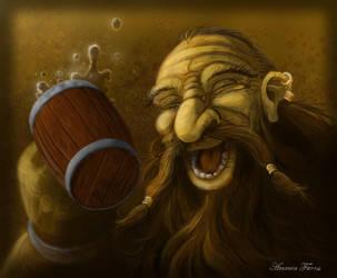 Drunken Dwarf by lifebytes