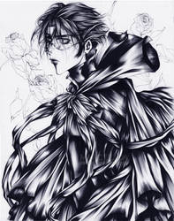 Portrait of a Dark King by Giname