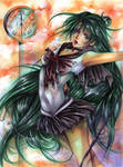 Sailor Pluto :colored: by Giname