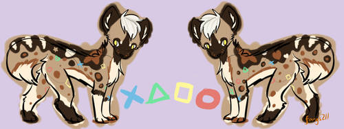African Wild Dog Adopt OPEN by fangs211