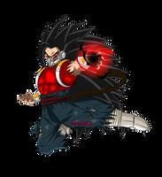 Kamba Evil Saiyan  energy ki by garu0212