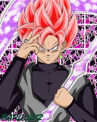 Goku Black SSJRose by garu0212