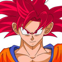 Son Goku SSG by garu0212