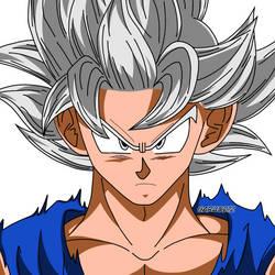 Son Goku Ultra Instinto Manga by garu0212