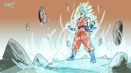 Goku Super Saiyan God Super Saiyan by zuntxuj