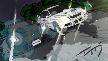 In Drift by zuntxuj