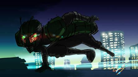 Night Rider by zuntxuj