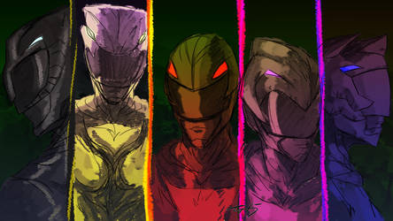 Its Morphin Time by zuntxuj