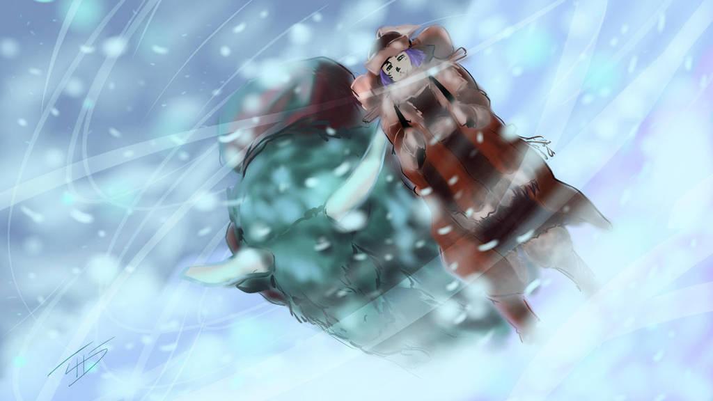 Mountain Traveler by zuntxuj