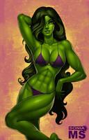 She-Hulk by SoniaMatas