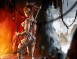 Commission Pawel - Warrior 4 by SoniaMatas