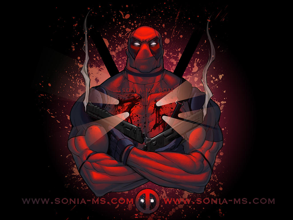 Deadpool Wallpaper By Soniamatas On Deviantart