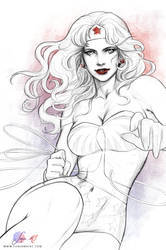 Wonder Woman by SoniaMatas