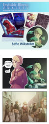 Invisible Illness: Anxiety, NOW ON KICKSTARTER by SofieWikstromArt