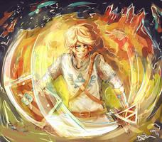 Link - Hyrule Warriors by Paprikoo