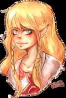 la princesse Zelda! by Paprikoo