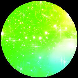 Glitter Green Shadow PNG by SugarPaula