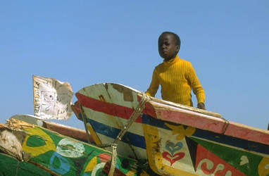 Plage de Kayar Senegal by ElGroom