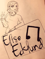Elise Ecklund! by pastel-taco