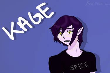 Kage! (Art Trade) by pastel-taco