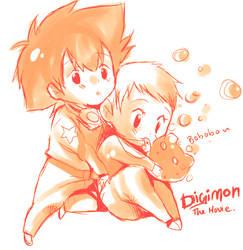 Digimon the movie by Arcanas-Romantica