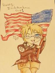 Happy Birthday America!!! by Spottedleaf24