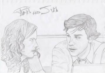 Pam and Jim VER 9.10.13 by NicolasKyle