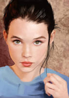 Astrid Berges Frisbey by akramness